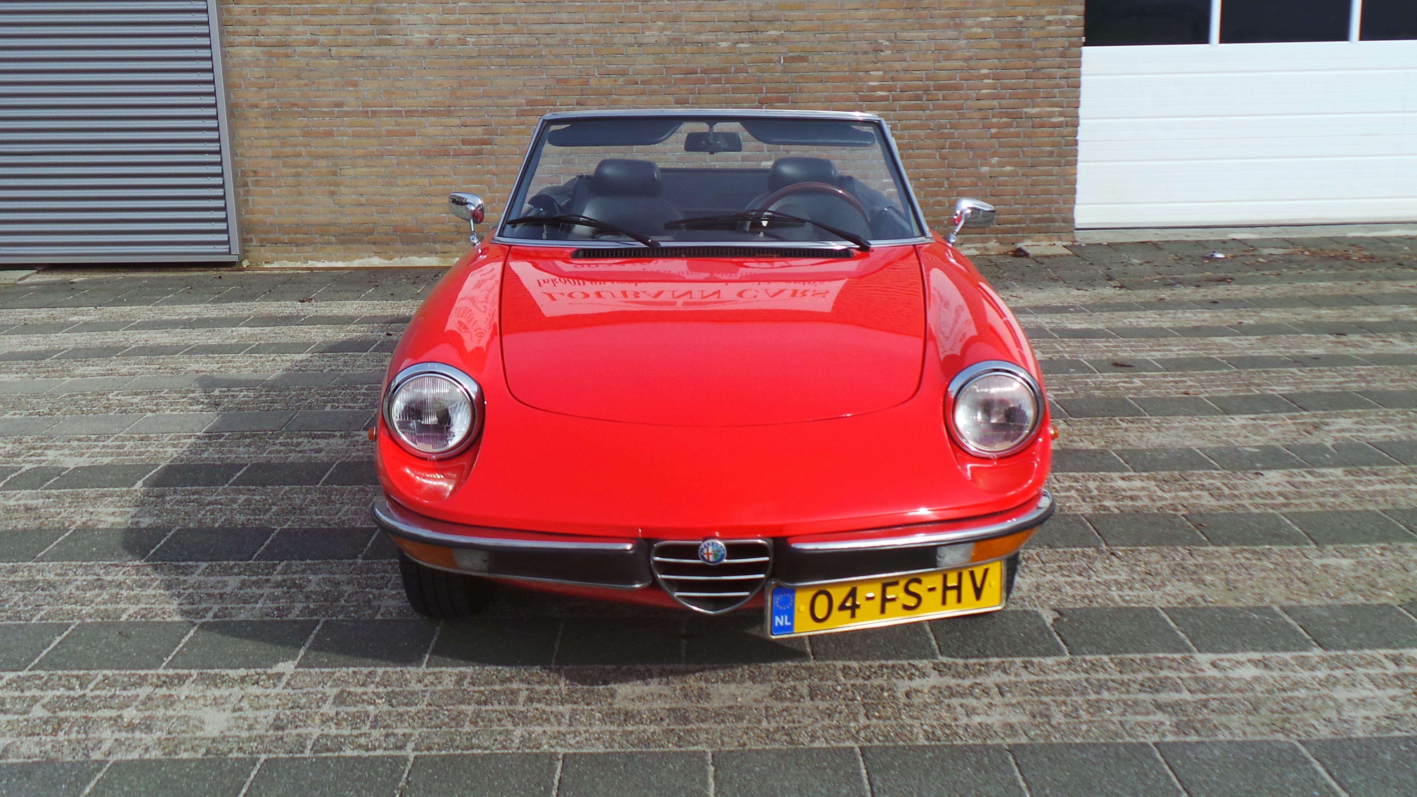 Alfa Romeo Spider 1600 Veloce - 1981 zeer nette staat