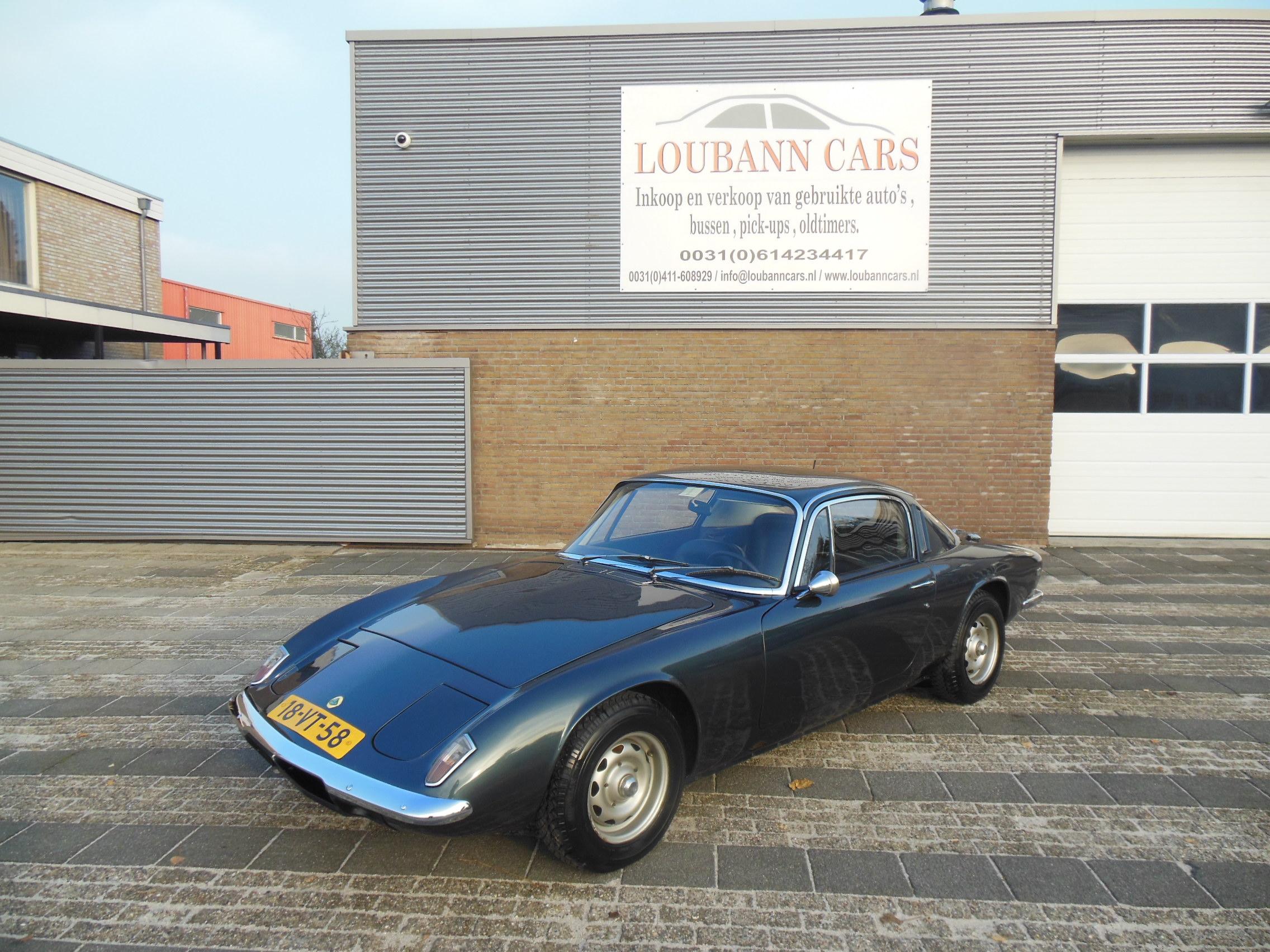 Lotus Elan 1.6 +2 S130 LHD 1969