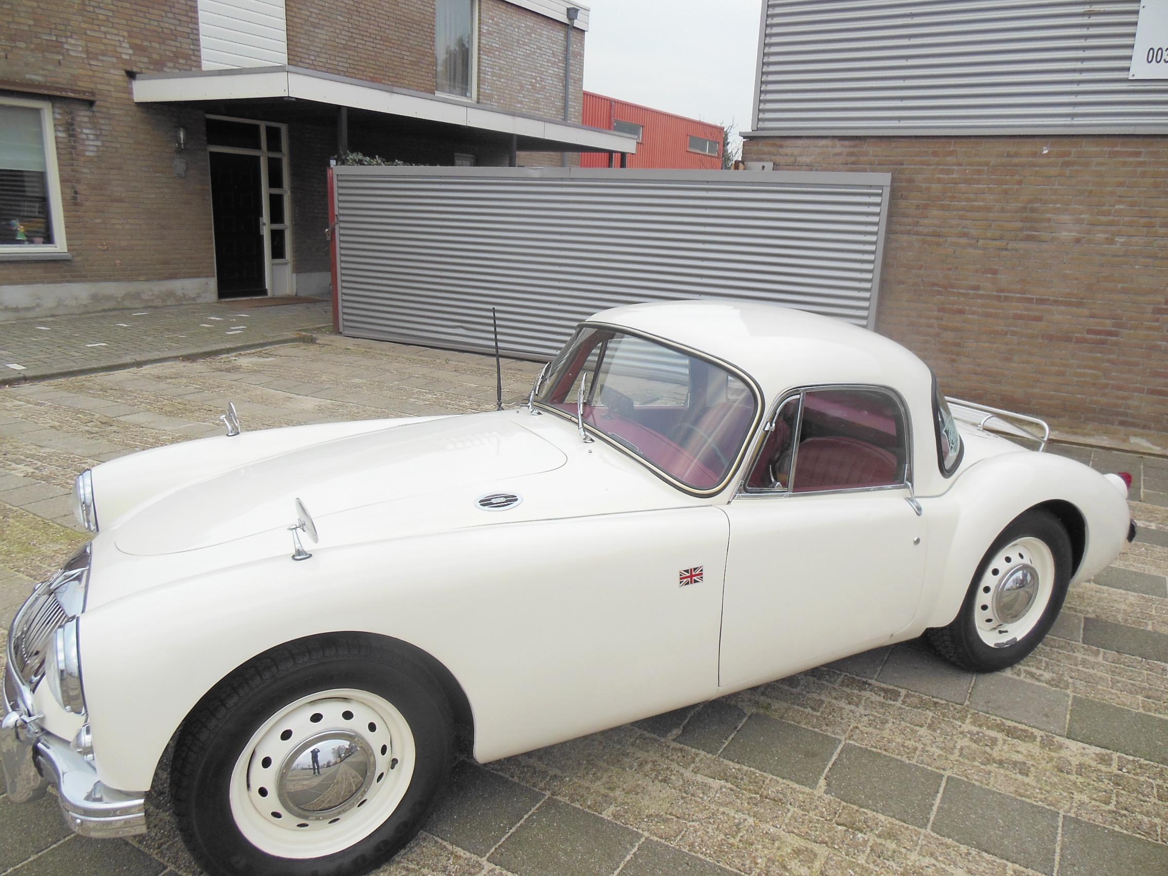 MGA Coupe 1960 zeer nette staat